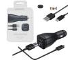 Samsung KFZ Schnellladegerät Dual Typ-C 15W EP-LN920CBEGWW schwarz Blister